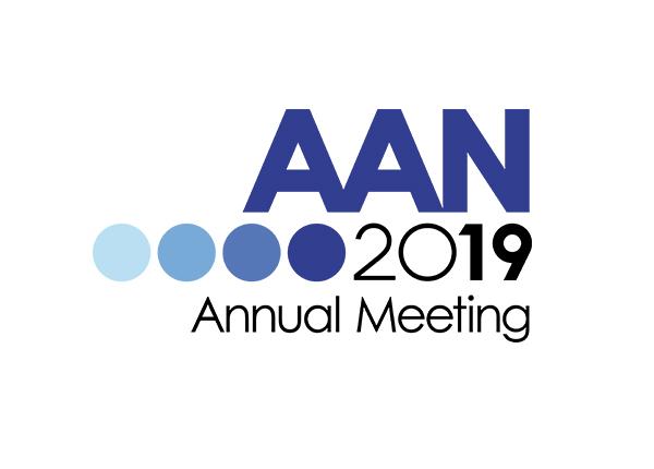 AAN annual meeting 2019 logo