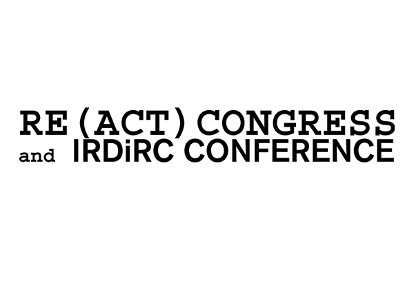 logo for RE(ACT) Congress and IRDiRC Conference