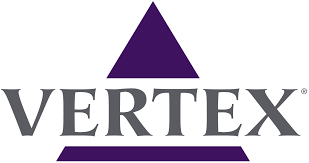 logo for Vertex Pharmaceuticals