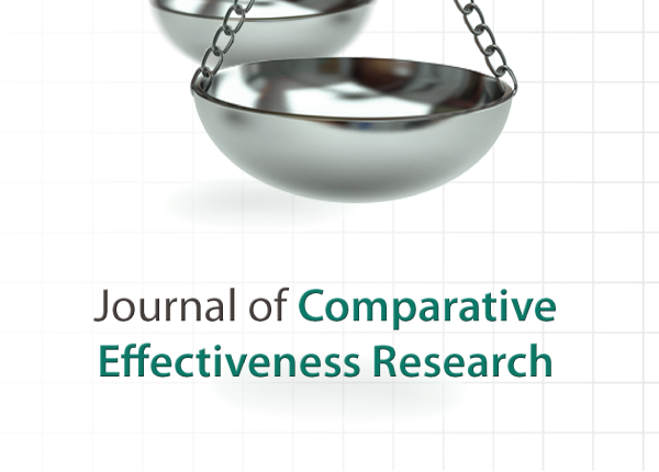 logo for Journal of Comparative Effectiveness Research